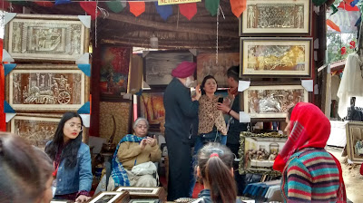 Netherlands art at Surajkund Crafts Fair