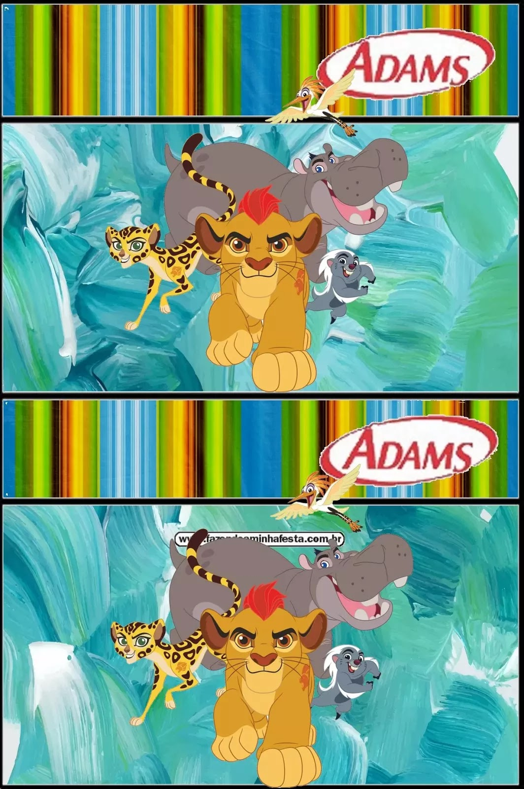 The Lion Guard Free Printable Candy Bar Labels