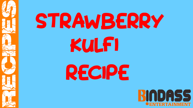 Strawberry-Kulfi-Recipe