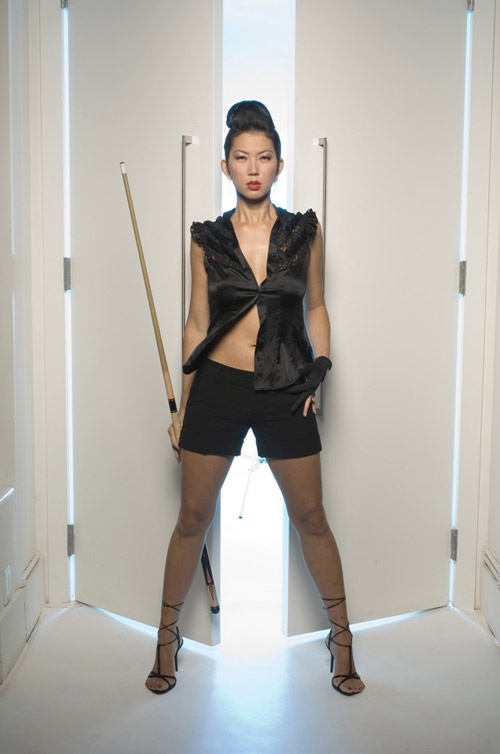 Sexy Asian Women In Heels