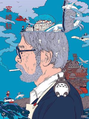 Hayao Miyazaki by Sharm Murugiah