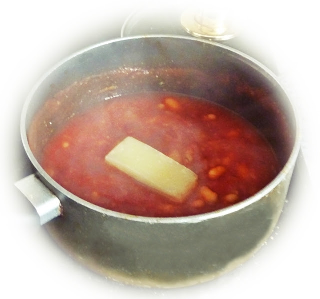 adding parmesan flavour to soup