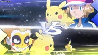 Pokémon  Capítulo 22 Temporada 19 Luchando A Todo Volumen