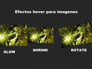 Efectos hover para imágenes