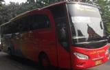 bus gajah mungkur kelas big top Jakarta-Wonogiri