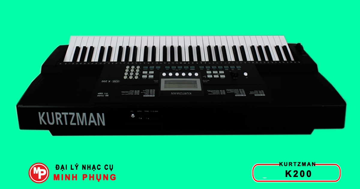 Đàn Organ Kurtzman K200 mới nguyên thùng nhập khẩu