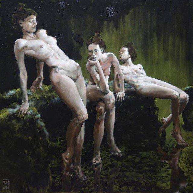 Нидерландский художник. Martein Peeters