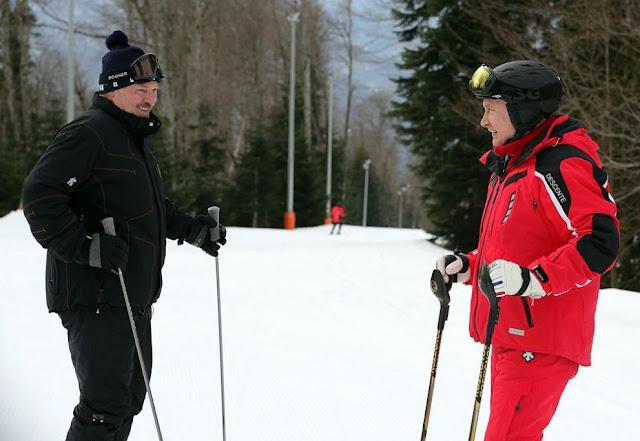 Putin And Lukashenko Strengthen ''Union States'' With Ski