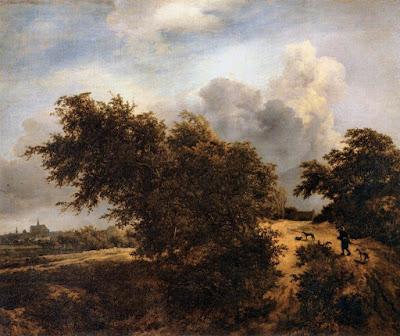 Jacob van Ruisdael - Le buisson