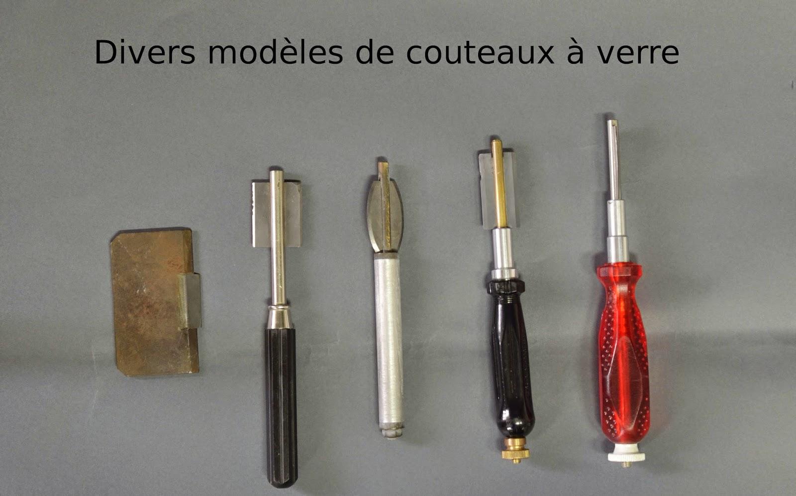 Pour un bon usage de la verrerie scientifique le couteau - Couteau laine de verre ...