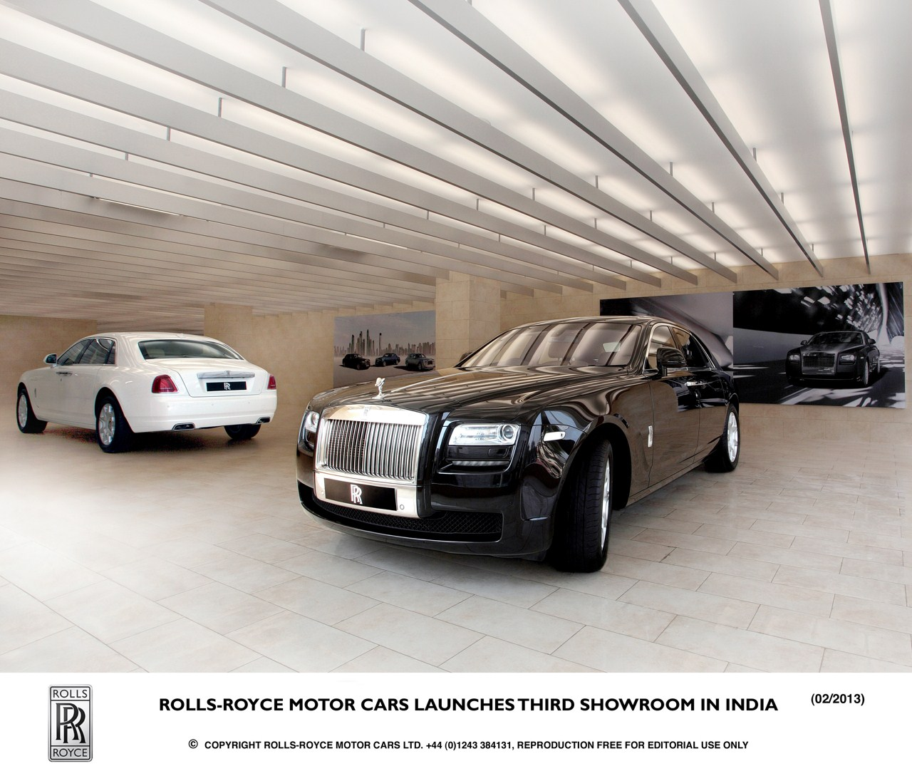 Rolls Royce Hyderabad Dealership Inaugurated Chandigarh And