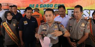 Dua Pelaku Curanmor Cikampek Dibekuk Polisi Karawang