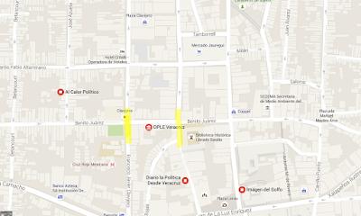Cierran calles en Xalapa por elecciones