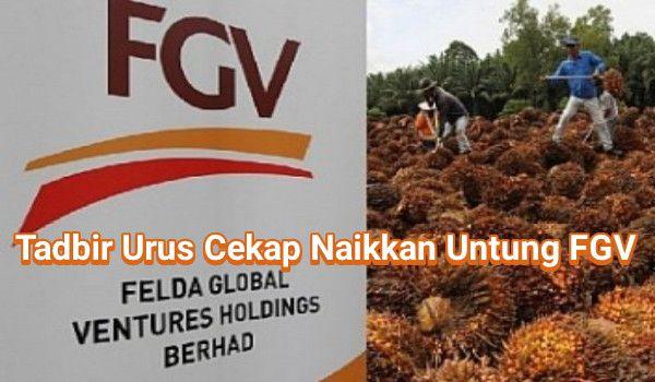 Tadbir Urus Cekap Naikkan Untung FGV