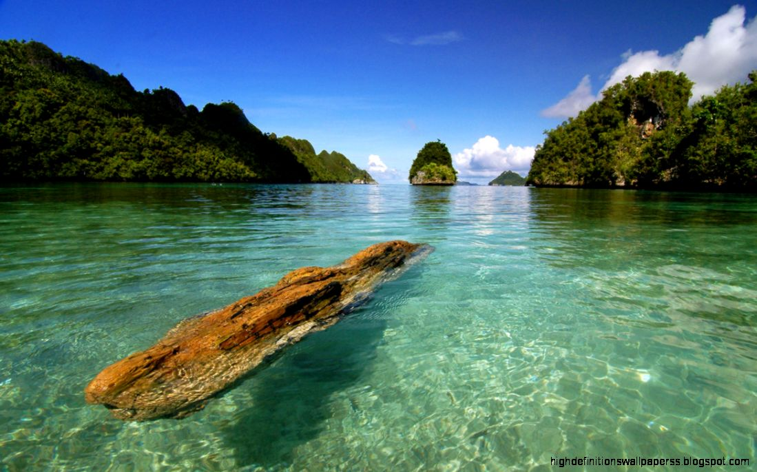 Amazing Raja Ampat Indonesia Beach Wallpaper Hd Desktop ...