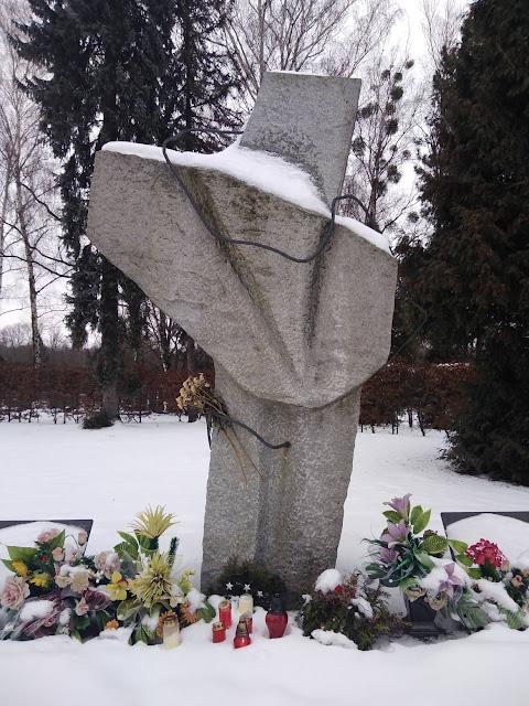 Обелиск на братской могиле Фридек-Мистек