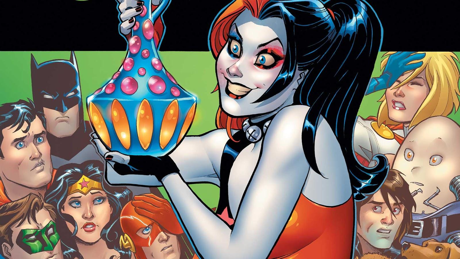 Harley quinn boobs