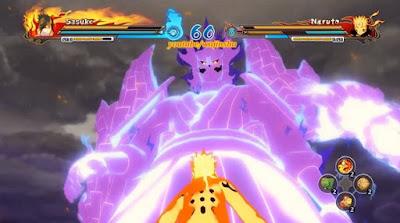 Download MOD Sasuke Rinnegan Naruto Ninja Heroes 3