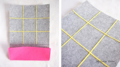DIY Silent Tic Tac Toe Game