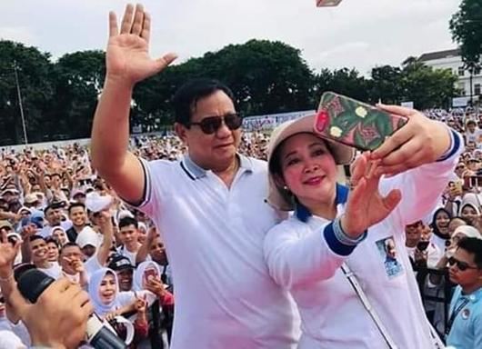 Prabowo-Titiek Soeharto Rujuk, Indonesia Lebih Sejuk