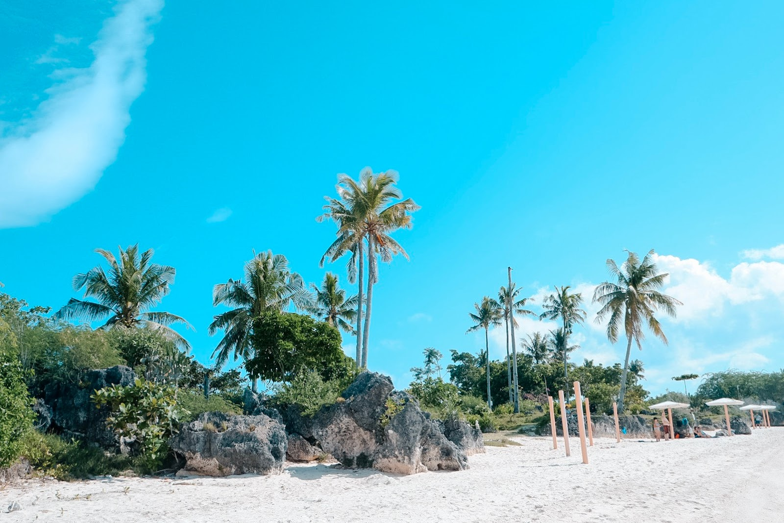 Paradise Beach in Bantayan Island