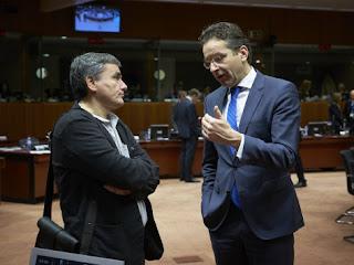 Eurogroup:Έκτακτη συνάντηση θεσμών - Τσακαλώτου λίγο πριν την κρίσιμη συνεδρίαση!