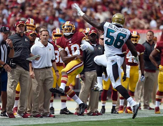 The Washington Redskins tamed the Jaguars and are flying North to Ring the Eagles Bell.