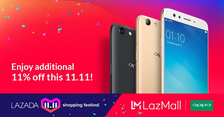 Score Great Deals on Select OPPO Smartphones with Lazada 11.11 Shopping Festival