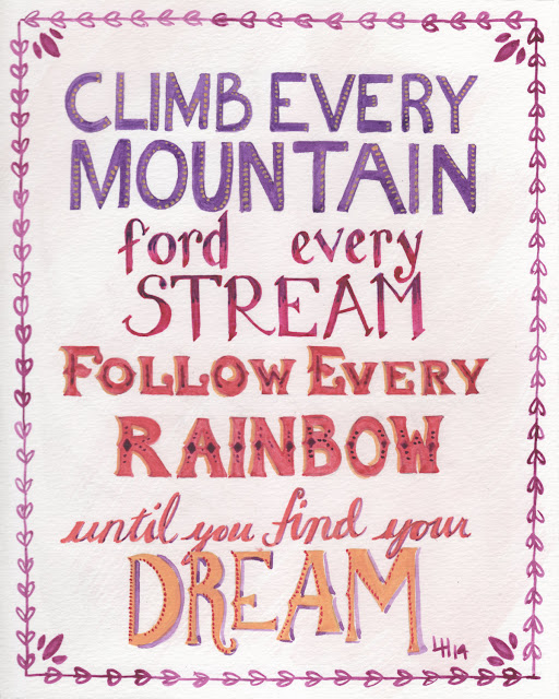 Go climb that mountain!