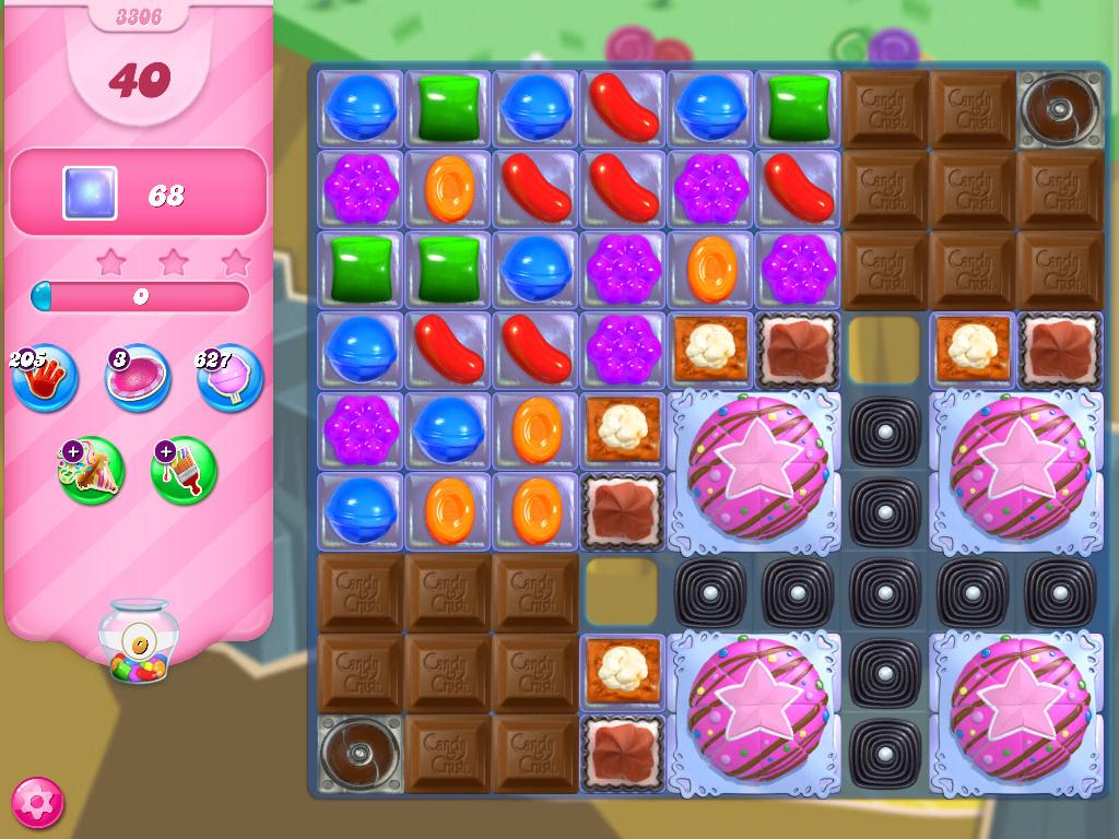 Candy Crush Saga level 3306