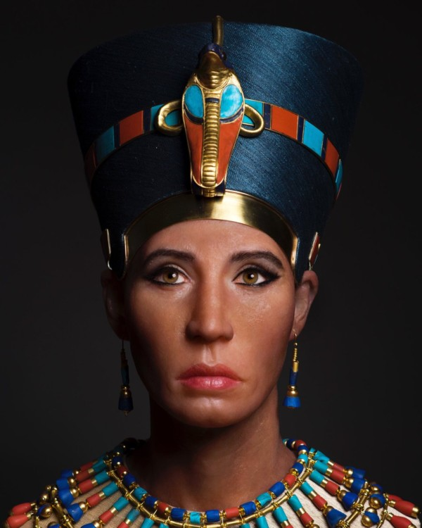 "3D remake of Egyptian Queen Nefertiti sparks ""Whitewashing"" Backlash"