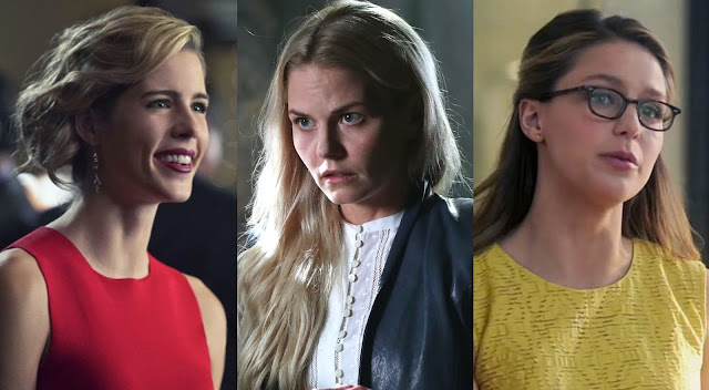arrow, once upon a time, supergirl