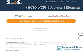 Giveaway : PHOTO WORKS Projects 3 Elements gratuit à nouveau !