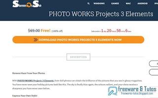 Giveaway : PHOTO WORKS Projects 3 Elements gratuit à nouveau !