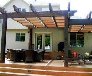 Model Kanopi Kayu Teras Depan Rumah 6