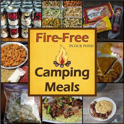 24 No-Cook Camping Meals from In Our Pond