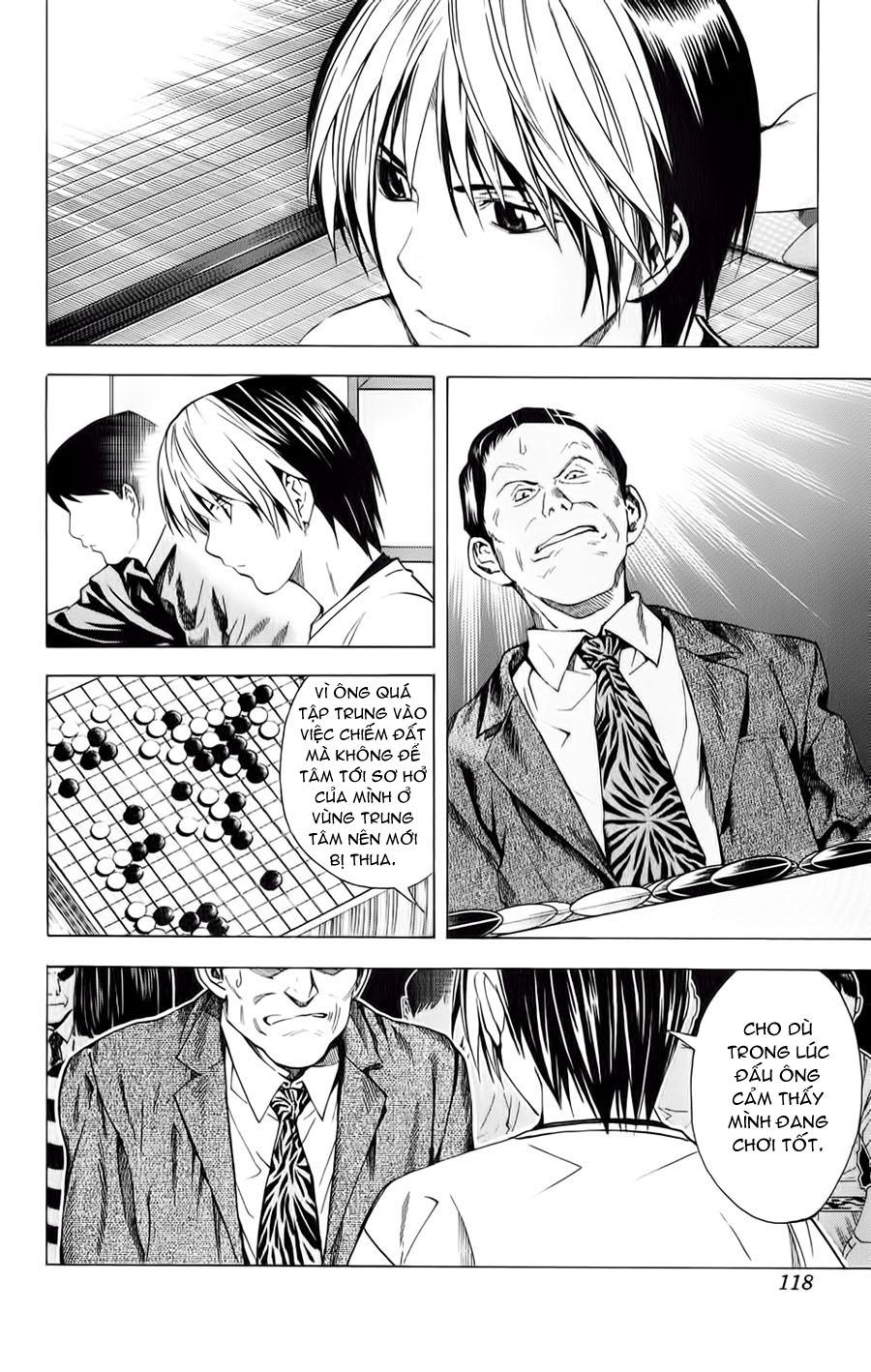 Hikaru No Go hikaru no go chap 153 trang 13