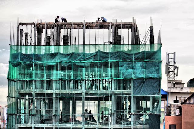 Le secteur de la construction crée 200.000 emplois journaliers