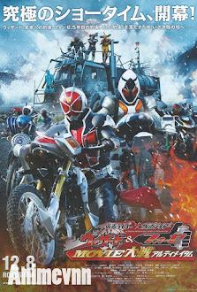 Kamen Rider X Kamen Rider Wizard & Fourze: Movie War Ultimatum -  2012 Poster