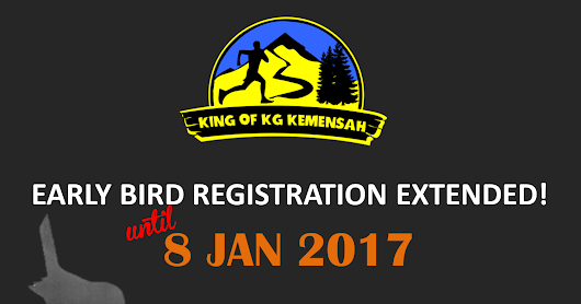 Early bird registration extended