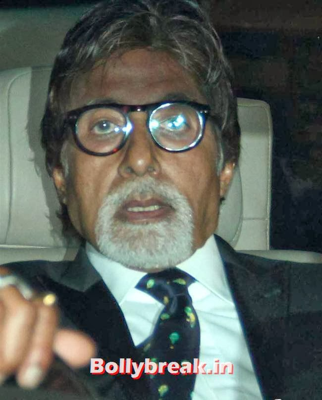 Amitabh Bachchan, Filmfare Awards 2014 Red carpet Images
