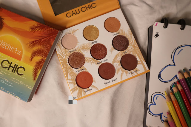 Feel The Sunset With Beauty Creation Cali Chic Pallete