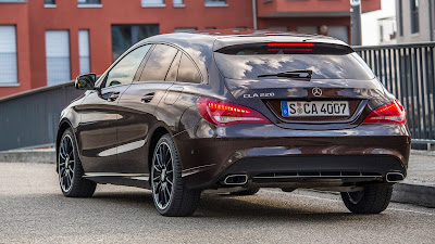 Mercedes Benz 2018 CLA 220 Shooting Brake Review, Specs, Price