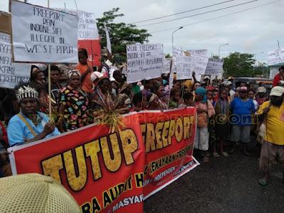 Orang Papua Minta Freeport Ditutup