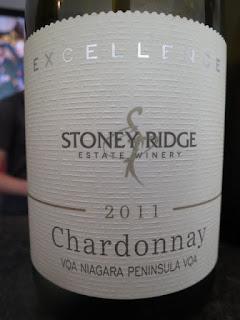 Stoney Ridge Excellence Chardonnay 2011 - VQA Niagara Peninsula, Ontario, Canada (88 pts)