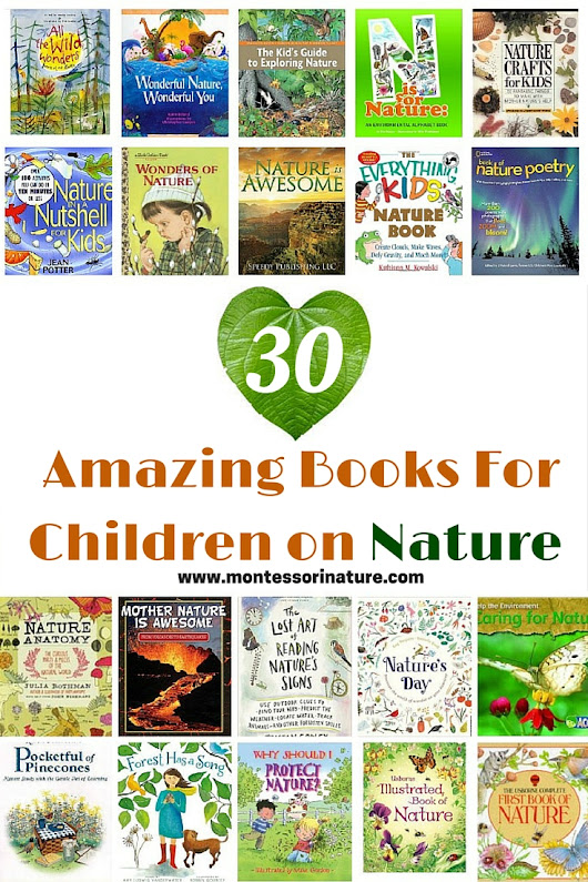 30 Amazing Books For Children on Nature