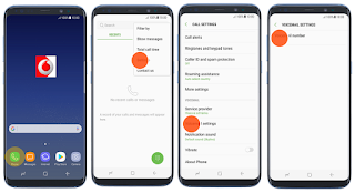 Setup voicemail on Galaxy S8