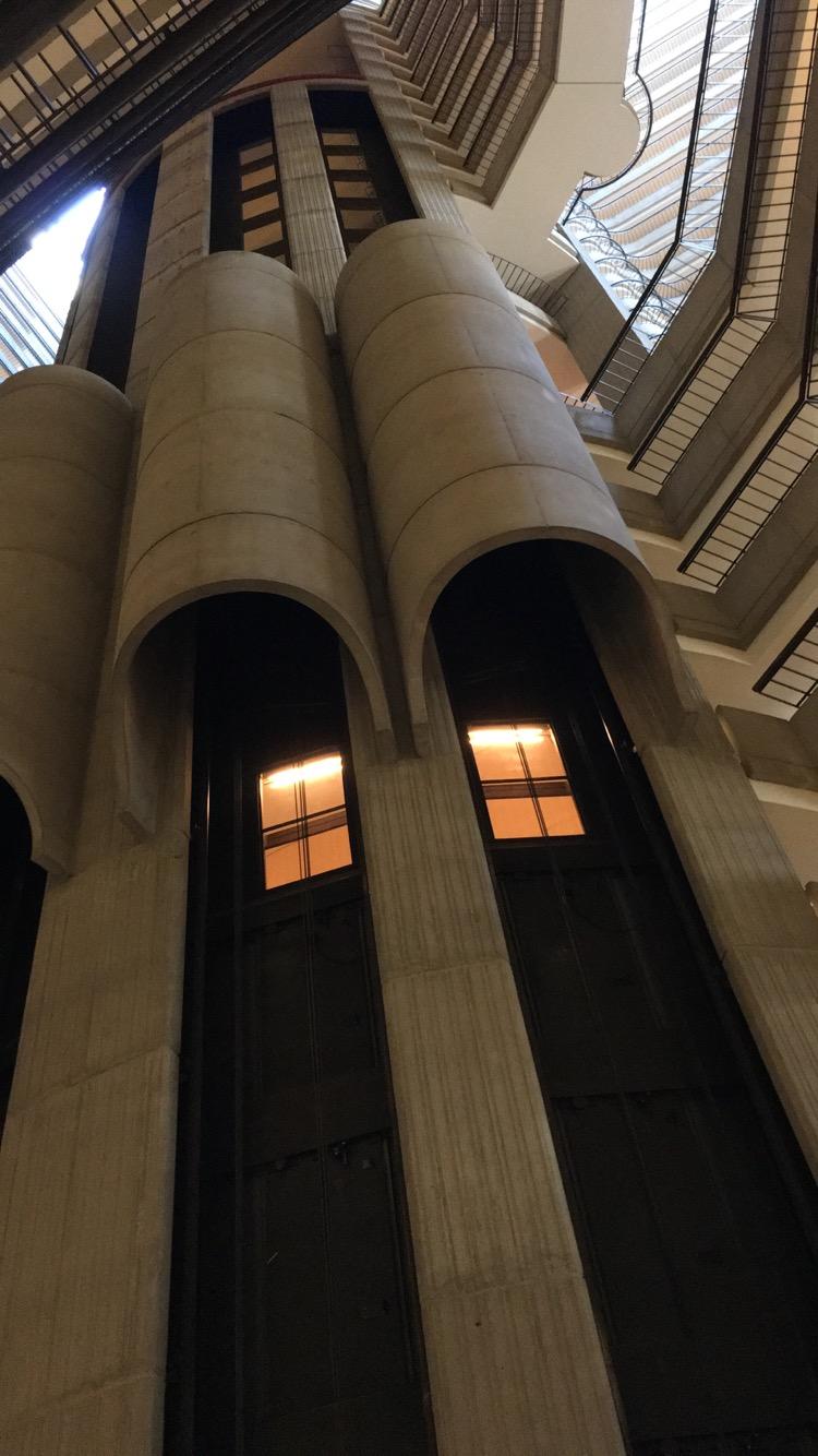 the Atlanta Marriott Marquis looks like a spaceship inside