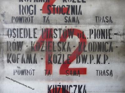 Linia nr 12, MZK Kędzierzyn-Koźle