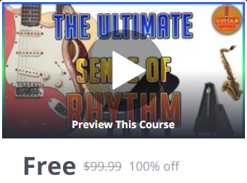 Udemy Coupon 100% Off - The Ultimate Sense of Rhythm Course; for All Musicians